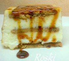 roski-cocina y algo mas-yus: Tarta de Galletas y Chocolate Blanco con Queso y Nata