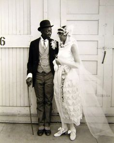 THE RELUCTANT BRIDE? | 1920s Black History Album: The Way We Were. African American Vernacular Photography via Blackhistoryalbum.com