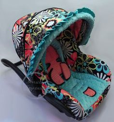 Custom Boutique Cutie Floral Infant Car Seat by smallsproutsbaby, $139.00