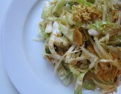 thyme for wine: Oriental Cabbage Salad