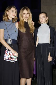 Suki Waterhouse Photos Photos - Immy Waterhouse, Suki Waterhouse and  Maddi Waterhouse  attend the Salvatore Ferragamo show during Milan Fashion Week Spring/Summer 2018 on September 23, 2017 in Milan, Italy. - Salvatore Ferragamo - Front Row - Milan Fashion Week Spring/Summer 2018