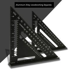 7inch/12 inch Aluminum Alloy woodworking Square,Layout Guide measurement tool,woodworking ruler купить в магазине JOE WHOLESALE INTERNATION CO.,LTDнаAliExpress