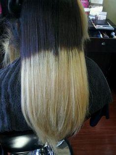 Obre Blue Natural Hair