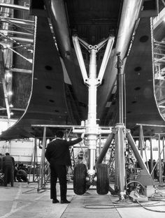 Assembling of Concorde
