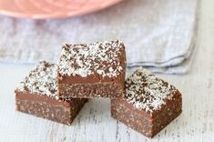 Browse hundreds of simple dessert and baking recipes perfect for busy families. Easy slices, kids recipes, lunch box snacks, delicious desserts, Thermomix recipes and more! Chocolate Coconut Slice, Coconut Icing, Lunch Box Recipes, Snack Recipes, Dessert Recipes, Cake Recipes, Lunch Ideas, Snacks Ideas, Tea Ideas