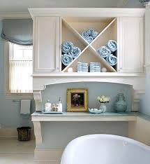 Make your own easy DIY storage furniture for a bathroom.