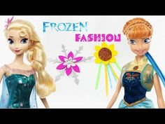 How to make Disney's Frozen Fever Inspired Hair accessories - YouTube