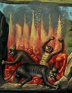 Medieval European Art Inspired by The Plague Medieval Manuscript, Medieval Art, Illuminated Manuscript, Maleficarum, Les Religions, Baphomet, Arte Horror, British Library, Angels And Demons