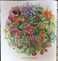 Image result for exotischer urwald colouring book
