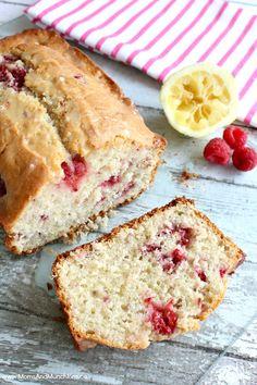 Raspberry Lemon Bread - Bread Recipes with Fruit