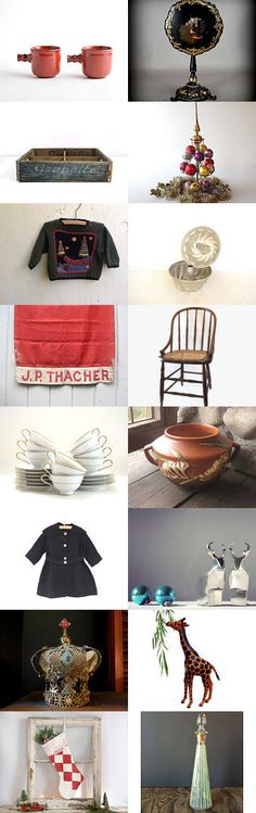 A Merry DHC Christmas to All! by Untried on Etsy--Pinned with TreasuryPin.com