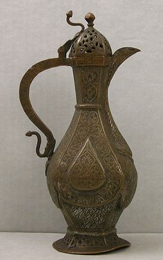 Copper Coffee Pot, Chinese, 19th Century