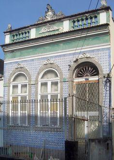 Azulejos antigos no Rio de Janeiro: Santa Teresa III - Ladeira Frei Orlando