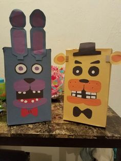 Five Nights at Freddy's Valentine's Day boxes for kids
