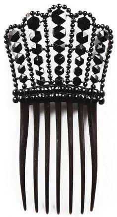 Victorian era hair comb