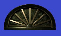 Wagon Wheel Gable Vent found at onyxxteriors.com