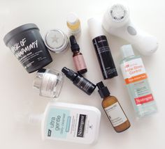 Favorite Skin Care Products 2014