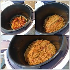 Spaghettis au chorizo version avec Cookéo - LA GUILLAUMETTE Spaghetti Bolognaise, Four, Chorizo, Brunch, Paris, Ethnic Recipes, Cooking Recipes, Cooking Food, Montmartre Paris