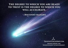 The degree you're ready to trust