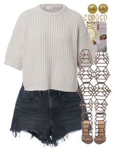 """""""Untitled #1523"""" by power-beauty ❤ liked on Polyvore featuring Alexander Wang, Michael Kors, Brunello Cucinelli, Schutz, Chanel and Forever 21"""