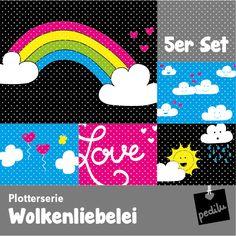 Plotterserie Wolkenliebelei – Heute wird gefeiert! #plotterdatei #plotter #silhouette #cameo #portrait #dxf #wolkenliebelei #wolke #liebe