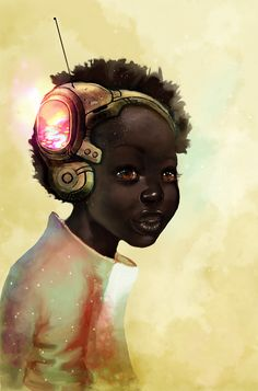 Digital art...How beautiful is this girl?