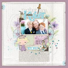 Amy Mallory has been knocking my socks off lately with her pages! so so cute!