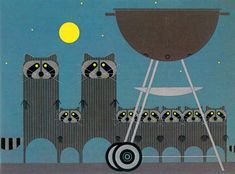 Racoons stole my barby // Charles Harper