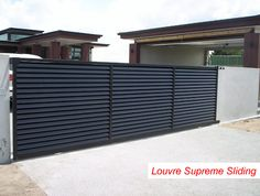 Aluminium gates