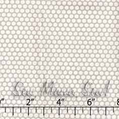 Honeycomb Dot Grey ~ Kei @ Sew Mama Sew