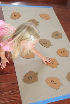 Toddler Approved!: Acorn Alphabet Matching Game