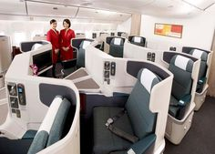 Cathay Pacific: business class