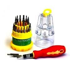 JACKLY 31 IN 1 SCREW DRIVER SET MAGNETIC TOOLKIT
