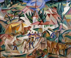 Alice Bailly - Village du Jorat, 1913
