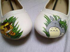 Bailarinas Totoro Moda Geek