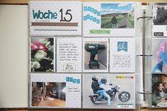 DT Scrapbook Werkstatt - Projekt Life Juni Kit - PL Woche von Katja Müller