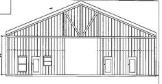Stock Barndominium floor Plans   Barn Floor Plans   Ready-to-Build Barns Metal Homes Floor Plans, Metal Building House Plans, Unique Floor Plans, Barn House Plans, Barn Plans, Building Plans, House Floor Plans, Building Design, Custom Home Plans