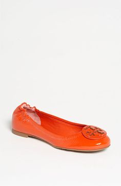 A must have for spring. Brights are in this upcoming season!  Tory Burch 'Reva' Flat | Nordstrom