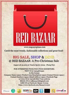 Christmas Bazaar Schedule 2015 around the City Bazaars, Pre Christmas, Company Names, Schedule, City, Red, Business Names, Timeline, Cities