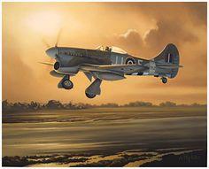 hawker tempest wallpaper - Google Search Art Militaire, Avion Militaire, Avions De Chasse, Guerre Mondiale, Peinture, Hawker Tempest, Art De L'avion, Avions Ww2, Nose Art