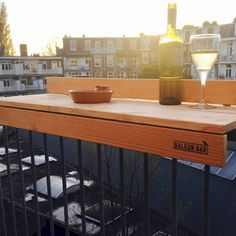 balcony bar The idea of utilizing a balcony that is either narrow or wide seems like a good idea. In fact, a narrow balcony is not just a place to dry clothes or even just to store other u
