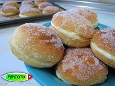 Donuts Rellenos de Crema de Vainilla - Video #149 - YouTube