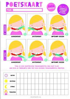 poetskaart meisjes
