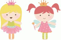 princesses por Imaginisce (print e cut)----------------I think I'm in love with this shape from the Silhouette Online Store!