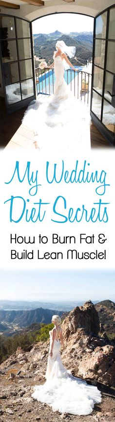 Are you eating enough to burn fat and build lean muscle?You may be sabotaging your weight loss goals. I share my wedding diet in this tell all blog post.