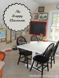 Our Homeschool Classroom @ knockitoffcrafts.blogspot.com