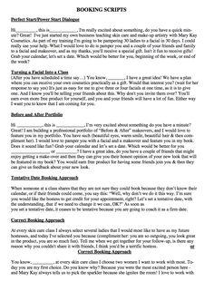 roll up bag closing sheet | Closing Sheets & Scripts