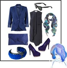 """""""Blue Shades"""" by desiree06 on Polyvore"""