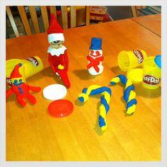 elf-on-the-shelf-play-doh-mess