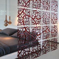 20 carrés rideau design, séparation design PIP